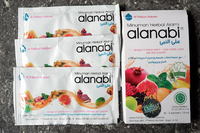review alanabi herbal plus madu