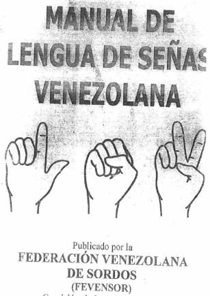 PSICO-PEDAGOGÍAWEB: Manual de lengua de señas venezolana
