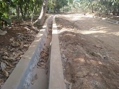 Pembangunan Drainase di Pekon Madaraya Disoal Warga