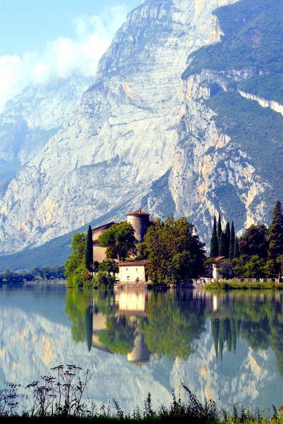 Castel Toblino, Trentino-Alto Adige - Italy