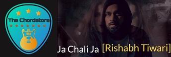JA CHALI JA Guitar Chords by | Rishabh Tiwari