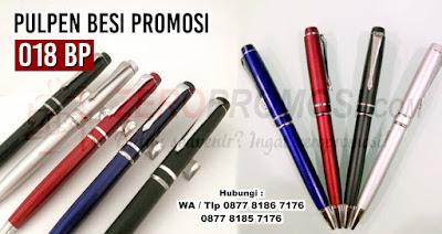 pen besi 018 Bp, Pulpen stainlees promosi kode Bp 018, Pen Promosi Metal 018 Bp, Pulpen promosi Metal 018 Bp