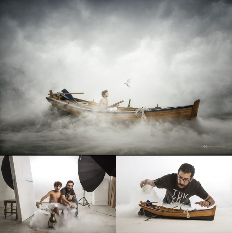 Миниатюрный мир от фотографа
