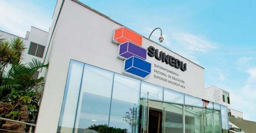 SUNEDU declara improcedentes solicitudes para abrir nueva universidad y filiales - www.sunedu.gob.pe