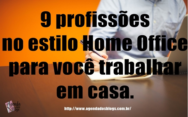 profissoes que permitem home office