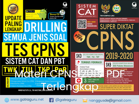 Materi CPNS 2019 PDF Terlengkap