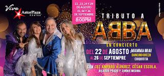 POS1 TRIBUTO ABBA por Super Troupers en Astor Plaza Bogotá