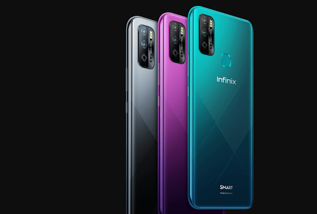Infinix Smart 4 Plus with a 6.82-inch display and 6000mAh battery Launched