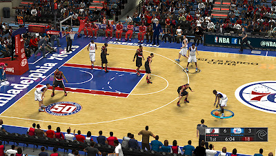 NBA 2K13 Philadelphia Court Update Patch