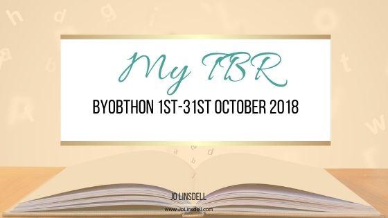 BYOBthon 2018年10月1 -31日:我的TBR