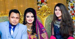 Mishu Sabbir And His Wife Shamma Holud Wedding Photos With Actress Shaina Amin