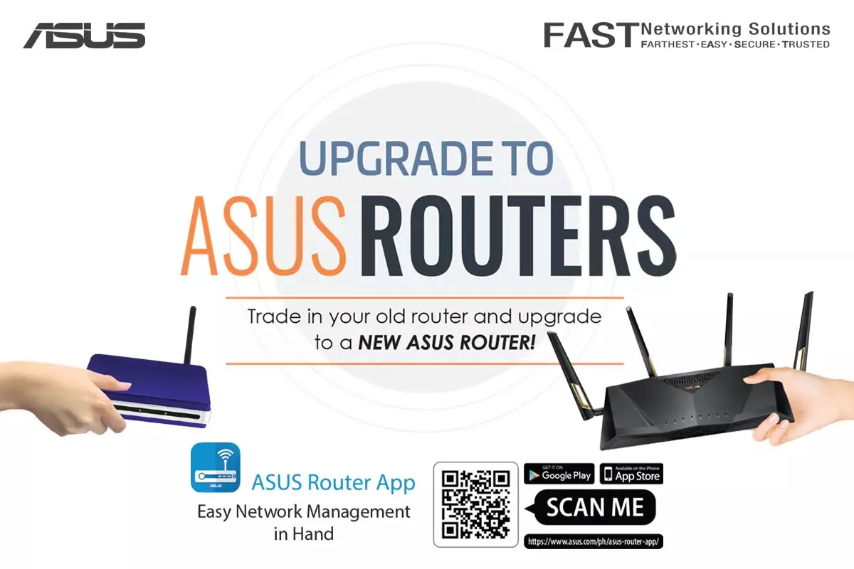 Upgrade to ASUS Routers Promo