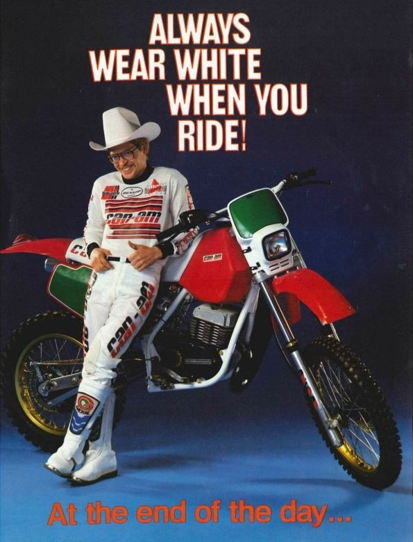 CanAm - Always Wear White When You Ride