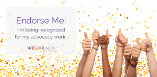 wego health awards, patient leader award, migraine, the migraine diva, jaime sanders