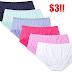 6 Pack Hanes Women's Ultra Light Brief Panties Only $3 + Free Shipping With Prime or $25 Order + Free Shipping Back on Returns - Sizes 7 Through 10 Available