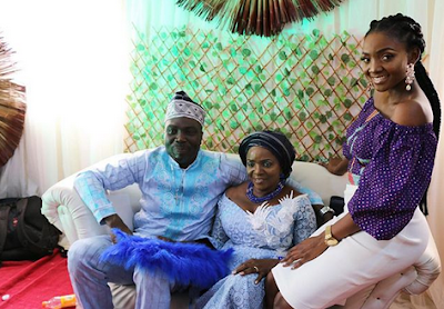 Joromi Singer Simi Plays Bridesmaid Role As Her Mum Ties The Knot Again After 20-years