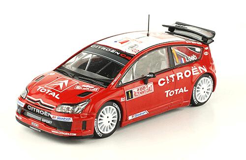 collezione rally monte carlo Citroën C4 WRC 2007 Sébastien Loeb - Daniel Elena