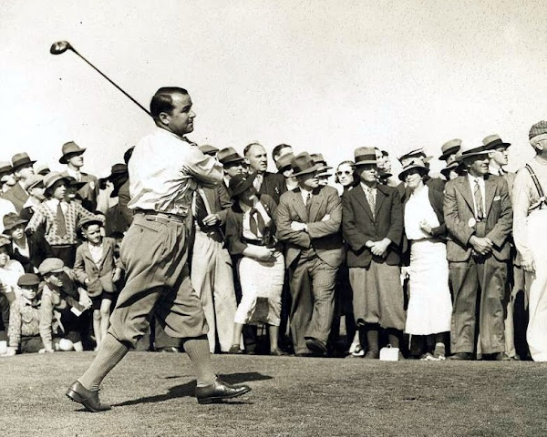 Gene Sarazen won The Masters in his first appearance