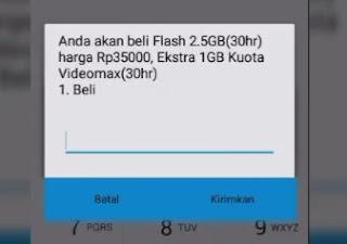 Kode Paket Internet Simpati 3G Murah 3,5 GB 35 Ribu