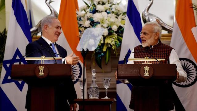 Netanyahu: Postura de La India sobre Al-Quds decepcionó a Israel