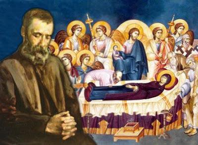 Άρθρο του Αλέξανδρου Παπαδιαμάντη, Η Κοίμησις της Θεοτόκου