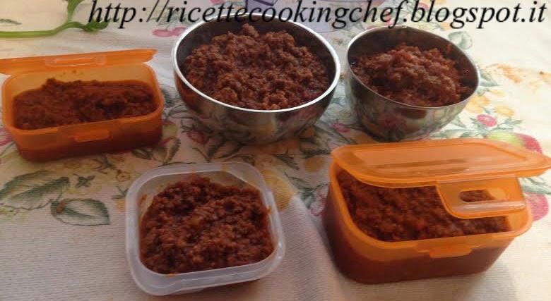 Ricetta Ragu Kenwood.Ragu Di Carne Con Kenwood Cooking Chef