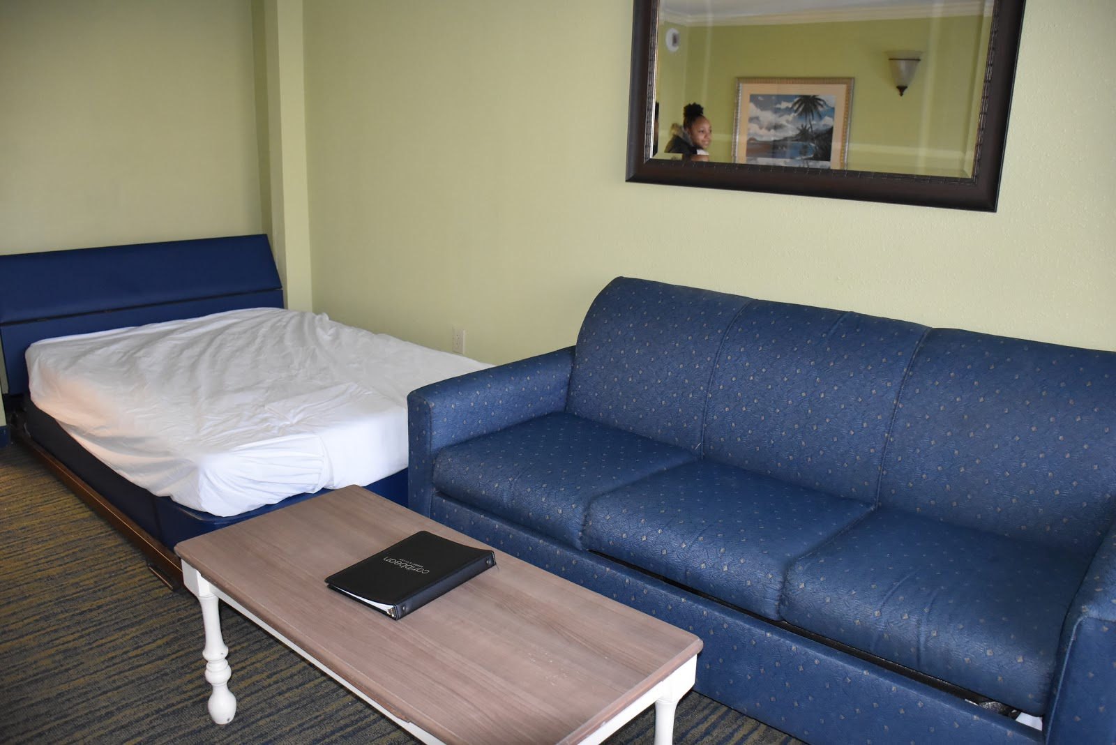 Murphy Bed and Sofa Bed in Caribbean Resort and Villas in Myrtle Beach