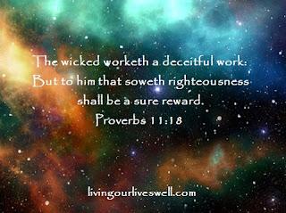 Proverbs 11:18