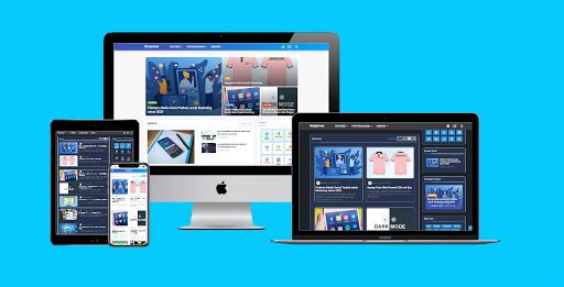 Hortomy Original Premium Blogger Template Free Download