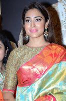 Shriya Saran Looks Stunning in Silk Saree at VRK Silk Showroom Launch Secundrabad ~  Exclusive 075.JPG
