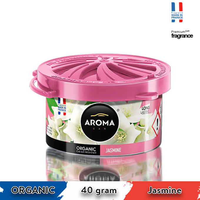 Sáp thơm ô tô Aroma Car Organic 40g - Jasmine