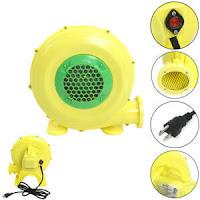 Air Blower Pump Fan 480 Watt 0.64HP For Inflatable Bouncers House Bouncy Castle