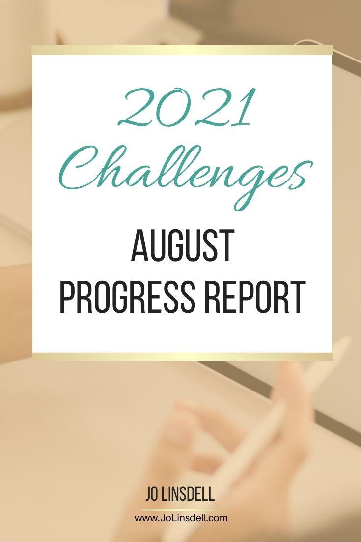 2021 Challenges: August Update