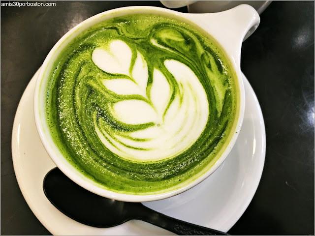 Matcha, Té Verde Japonés en Boston