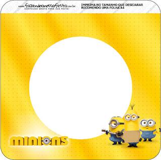 Banderines de Película de los Minions para imprimir gratis.