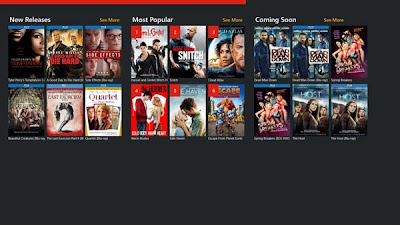 Redbox for Windows 8 and Windows RT