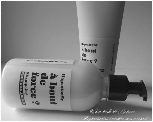 shampooing hapsatousy, baume réparateur hapsatousy, beauté