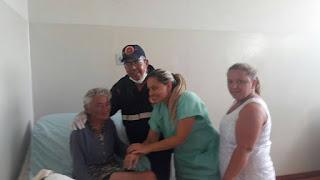 Anciã encontrada em matagal sem memória é acolhida no hospital de Soledade