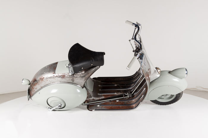 The world's oldest Vespa scooter had sold at the price of $195K