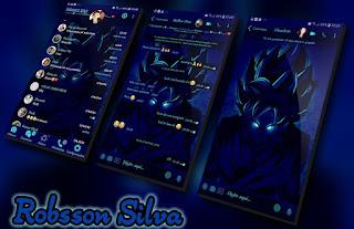 Goku Navy Blue Theme For YOWhatsApp & Fouad WhatsApp By R̳o̳b̳s̳s̳o̳n̳