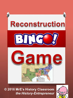https://www.teacherspayteachers.com/Product/HISTORY-Reconstruction-BINGO-game-2576798