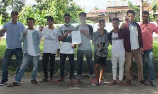 Aliansi Pemuda Peduli Desa laporkan Kepala Desa Sondosia, Kecamatan Bolo, Jauhari Irfani dilaporkan ke Unit Tipikor Polres Bima