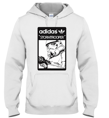 Star Wars Adidas Stormtrooper T Shirt Jacket Hoodie Sweatshirt 2018