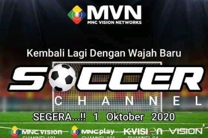 Frekuensi Soccer Channel di Telkom 4