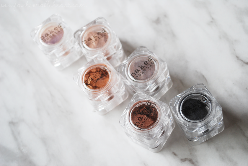 bbloggers, bbloggersca, naked cosmetics, sierra nevada, pigments, eyeshadow, review, swatches, collection, pigment