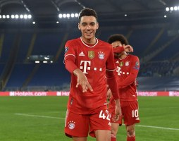 Young Nigerian forward makes history with Bayern Munich in UCL