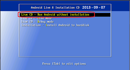 Install and Run Android OS on your PC