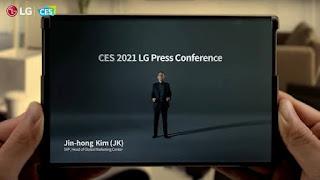 تعلن Samsung عن شاشات التمرير والشاشات المنزلقة 2021
