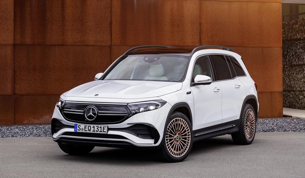 Mercedes-Benz EQB 2022 - Xe điện cho gia đình