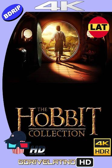 El Hobbit (2012-2014) Colección BDRip 4K HDR Latino-Ingles MKV